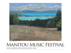 2016 Manitou Music Fetival Poster