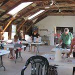 Inside Classroom at Thoreson Farm