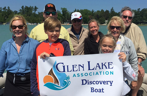 Glen Lake Association Boat