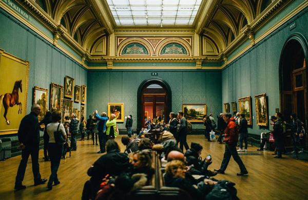 2019 Art Exhibit Members Create reception